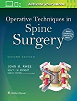 Operative Techniques in Spine Surgery Front Cover