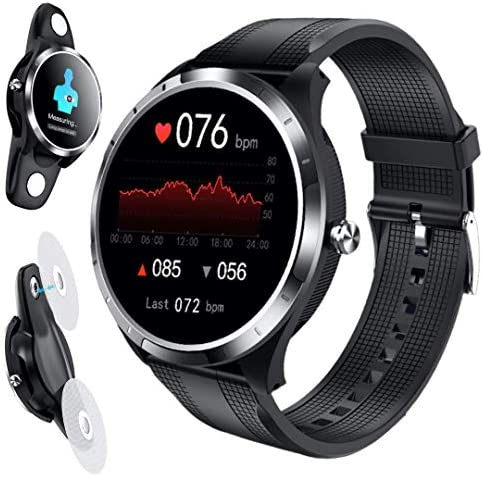 SPOREX EG4 Health Focused Smart Watch, Heart Rate & Blood Pressure Monitor, Fitness Tracker, Blood Oxygen Meter; Smartwatch for Android phones and iPhone Compatible; HD Touch Screen, Waterproof; Sport 1