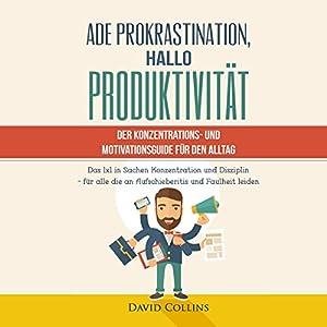 Ade Prokrastination, Hallo Produktivität Hörbuch