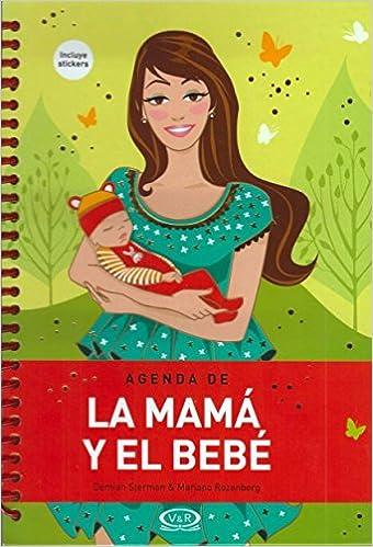 Amazon.com: Agenda De La Mama Y El Bebe-agenda Perpetua: Books