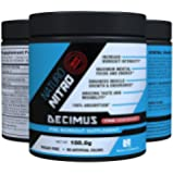 Naturo Nitro Pre Workout Decimus, Best Fat Burner Preworkout Creatine Energy Drink with, Nitrous Oxide Boosters and Amino Acids, Pre-Workout for Men and Women, 28 Servings, Pink Lemonade