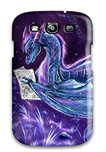 Excellent Galaxy S3 Case Tpu Cover Back Skin Protector Blue Dragon