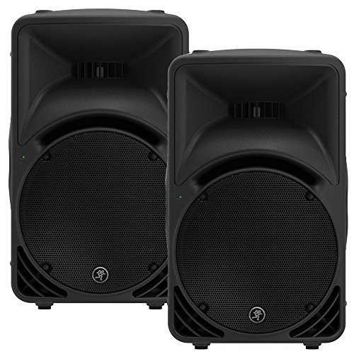 Mackie SRM450 Powered 12'' Loudspeaker Pair 2000W Bi-Amped Version 3 Active SRM450V3-Pr by Mackie