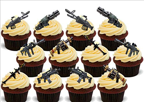 Cake Toppers Home & Garden 12 Premium Novelty Edible Cake ...