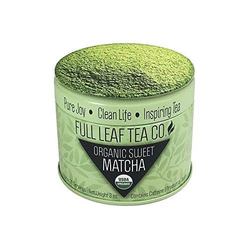 Organic Sweet Matcha Premium Green Tea Powder (Approx 20 Servings)