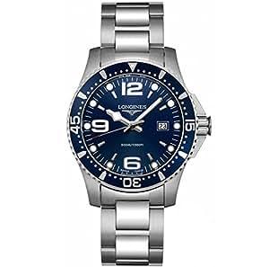 Longines  L36404966 - Reloj de cuarzo para hombre, con correa de acero inoxidable, color plateado