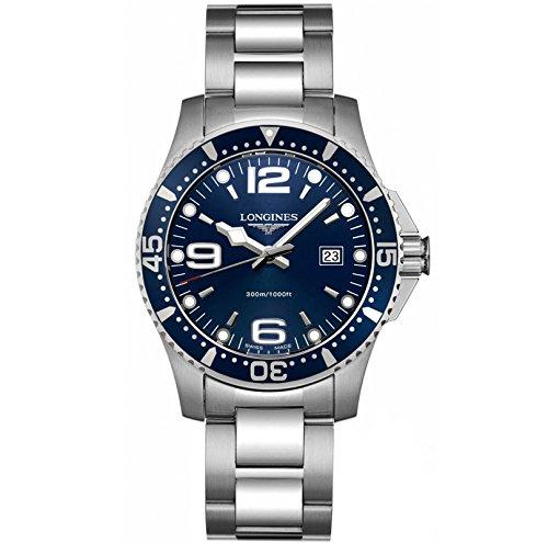 Longines L36404966 - Reloj de cuarzo para hombre, con correa de acero inoxidable, color plateado: Amazon.es: Relojes