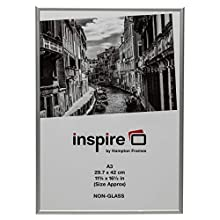 The Photo Album Company PAAFA3B - Marco de fotos (aluminio satinado)