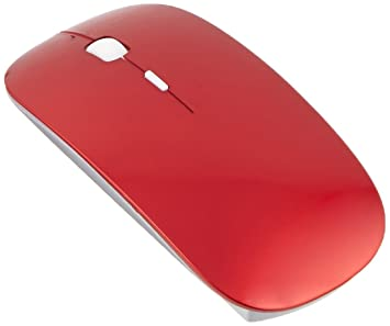 a7ed630d226 Amazon.com: ROCKSOUL MS-102 Bluetooth Laser Mouse for MAC, Red ...