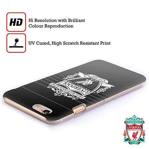 Officiel Liverpool Football Club Troisième Blanc Crête Designs Étui Coque D'Arrière Rigide Pour Apple iPhone 5 / 5s / SE