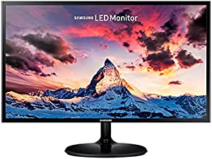 Samsung S24F350FHE LED Monitor, Black, 24 Inch