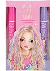 Depesche TopModel 1115 Haarkrijtstiften, uitwasbare haarkleur in stiftvorm, voor opvallende kleurrijke haarstrengen, gesorteerd