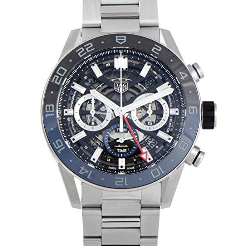 Tag Heuer Carrera Black Skeleton Dial Men's Watch CBG2A1Z.BA0658