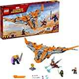 LEGO Marvel Super Heroes Avengers: Infinity War Thanos: Ultimate Battle 76107 Guardians of the Galaxy Starship Action Construction Toy and Building Kit for Kids (674 Pieces)
