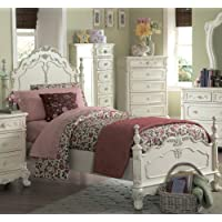 Cinderella Twin Size Bed By Homelegance