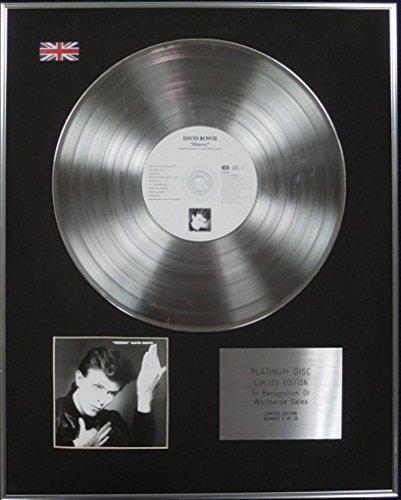 HEROES Disc Platinum DAVID BOWIE Edici/ón limitada CD