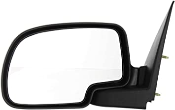 New Driver Side Textured Black Door Mirror For GMC Sierra 1500 Classic 2007