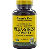 Nature's Plus, Mega-Stress Complex, 90 Tablets - 2pc