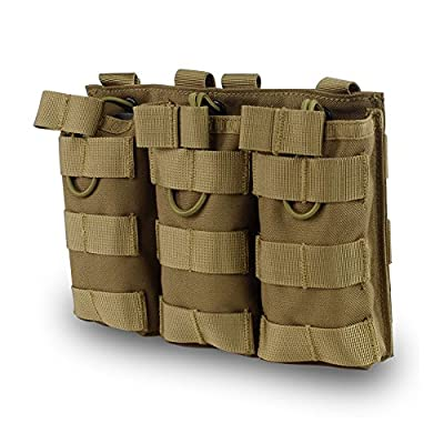 Outry M4 M16 AR-15 Type Magazine Pouch Mag Holder - Triple/Double / Single Airsoft MOLLE Mag Pouch
