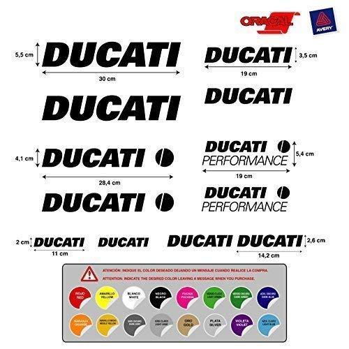 Pegatina adhesivo Ducati