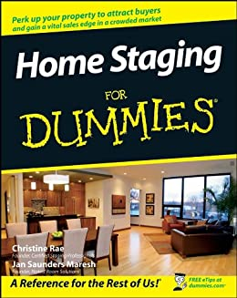Home Staging For Dummies by [Rae, Christine, Jan Saunders Maresh]