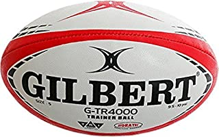 Gilbert G-TR4000 Rugby Sports Cousu Main TRI Grip Entraînement Balle Taille 3-5 Size 5 Only Sportsgear