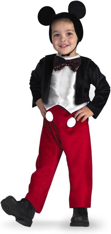 B00009NQW2 Disney Mickey Mouse Deluxe Boys' Costume 51nUUMg77JL