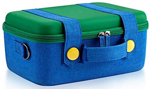 (Funlab Travel Carrying Case Compatible with Nintendo Switch System,Cute and Deluxe,Protective Hard Shell Carry Bag for Nintendo Switch Console &)