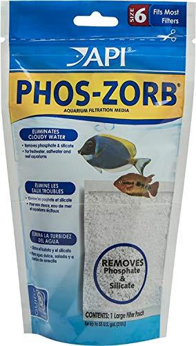 Phos Zorb Pouch - API Phos-Zorb Pouch, Aquarium Filtration Media, Size 6, 12 Pack