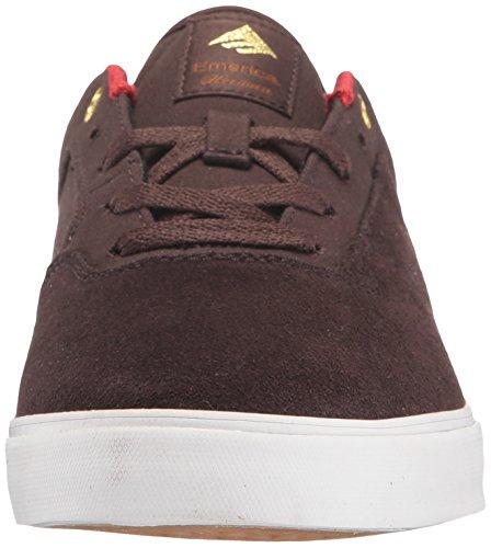 Emerica The Herman G6 Vulc, Color: Brown/White, Size: 45 Eu / 11 Us / 10 Uk
