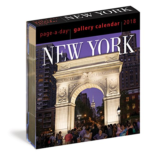 New York Page-A-Day Gallery Calendar 2018