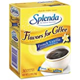 Splenda : French Vanilla, Stick Packets, 30 per Carton -:- Sold as 2 Packs of - 30 - / - Total of 60 Each