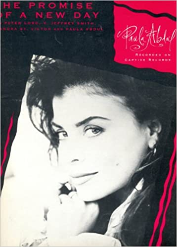 the promise of a new day sheet music paula abdul