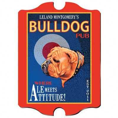 (Vintage Personalized Ale Pub Sign )