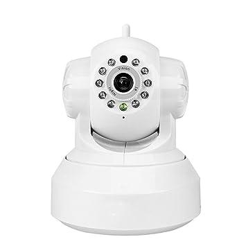 HZJ Cámara De Vigilancia De 355 ° WiFi Panorámico WiFi 1080P HD Cámara De Seguridad de