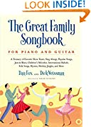 #10: Great Family Songbook: A Treasury of Favorite Show Tunes, Sing Alongs, Popular Songs, Jazz & Blues, Children's Melodies, International Ballads, Folk ... Jingles, and More for Piano and Guitar