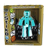 Stikbot Best Deals - Stikbot Solid Aqua Blue Action Figure Light Animation Toy Social Media Skitbot Stick Bot