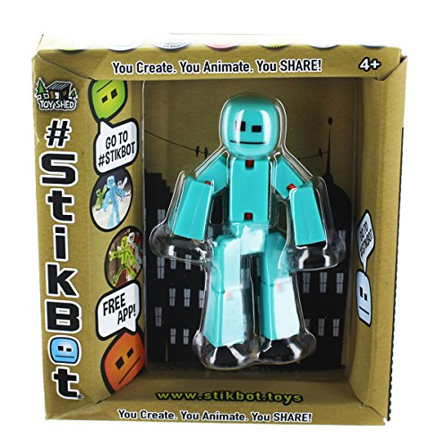 Stikbot Solid Color Figure
