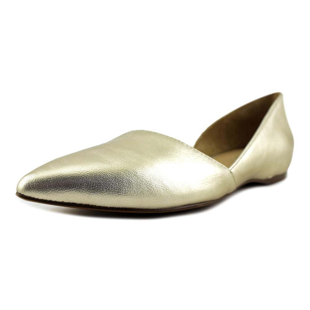 Platina Leather Naturalizer Women's Samantha Pointed Toe Flat