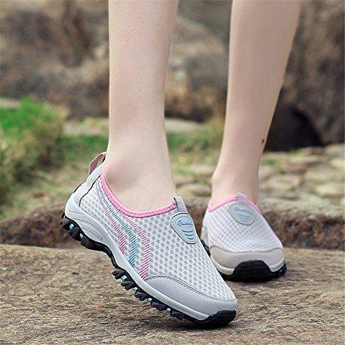Sommer ONS Freizeitschuhe Frühling Tüll C Driving Trekking Sport Slip XUE Schuhe Atmungsaktive Müßiggänger Liebhaber Laufschuhe Schuhe Schuhe Plateauschuhe OngzXFq