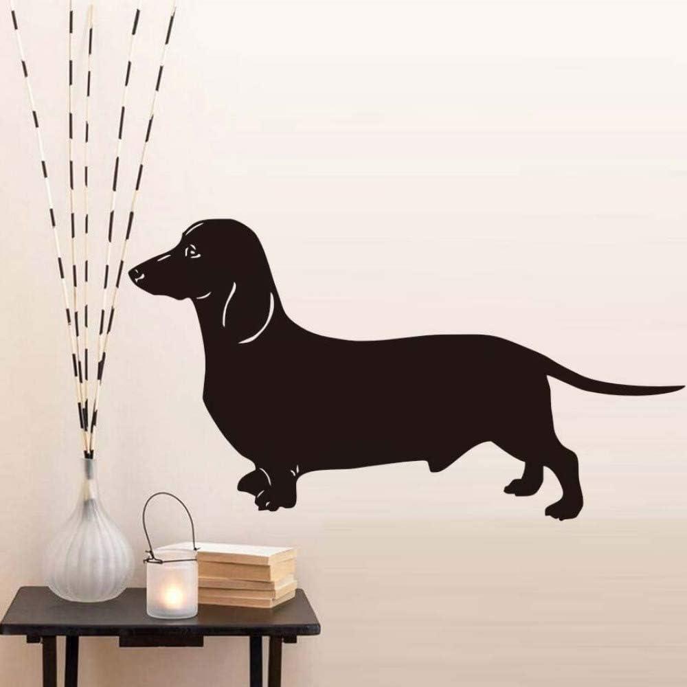 La etiqueta de la pared más popular del perro salchicha grueso ...