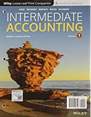 Intermediate Accounting 12e Canadian Edition, Volume 1 and 2 Loose-Leaf and WileyPLUS Card Set