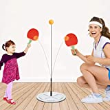 ForPeak Ping Pong Trainer Table Tennis Training