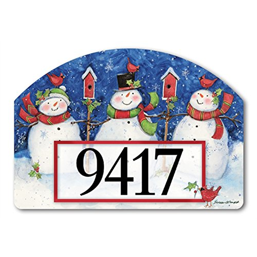 Yard Designs Address Magnet - Just Chillin' Yard DeSign Address Sign - 14