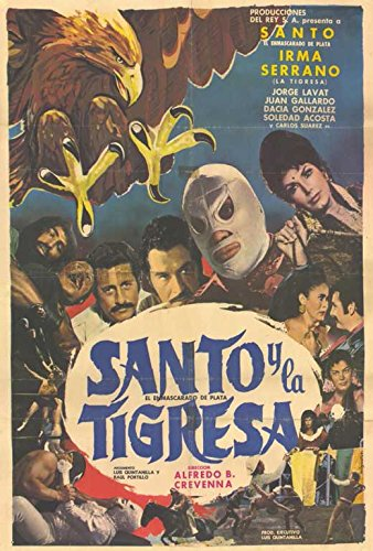 Santo y el aguila real Spanish Poster