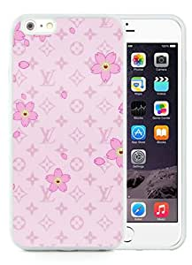 iPhone 6 Plus Case,Louis Vuitton 40 White iPhone 6 Plus 5.5 inches Screen TPU Phone Case Genuine and Luxury Design