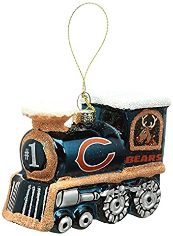 NFL Chicago Bears Train Ornament - Chicago Bears Christmas Ornament