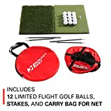 Rukket Pop Up Golf Chipping Net | Outdoor/Indoor
