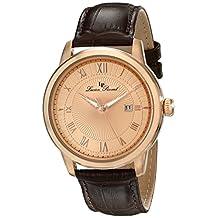 Lucien Piccard Men's LP-12758-RG-09 Solstice Analog Display Japanese Quartz Brown Watch