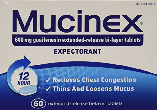 Mucinex Extended-Release Bi-Layer Tablets, 60 ()